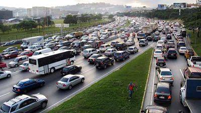 Día complicado en Caracas por tránsito